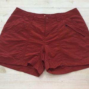 Royal Robbins athletic utility hiking shorts sz 12